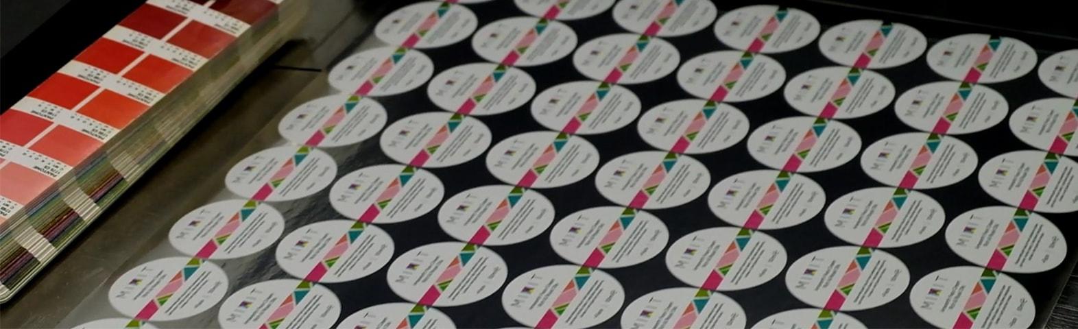 Этикетки цифровая печать